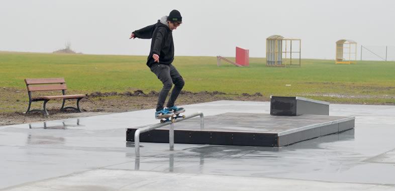 Gwiazdka dla skaterów – wielkie otwarcie skateparku w Gniewie