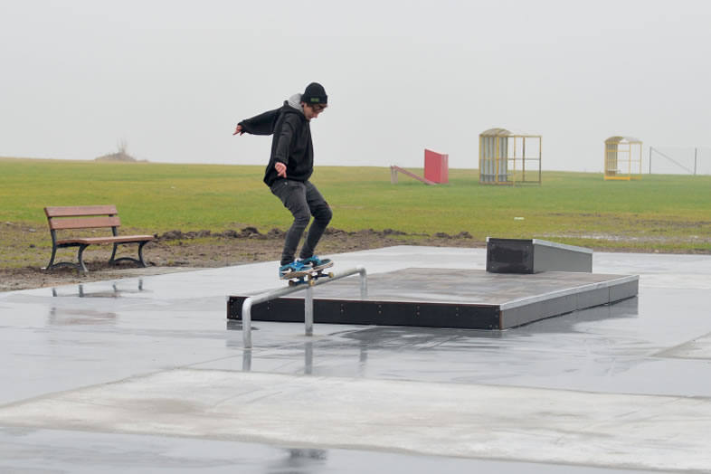 Otwarcie skateparku w Gniewie