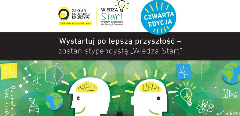 """Czwarta edycja programu stypendialnego """"Wiedza Start"""""""