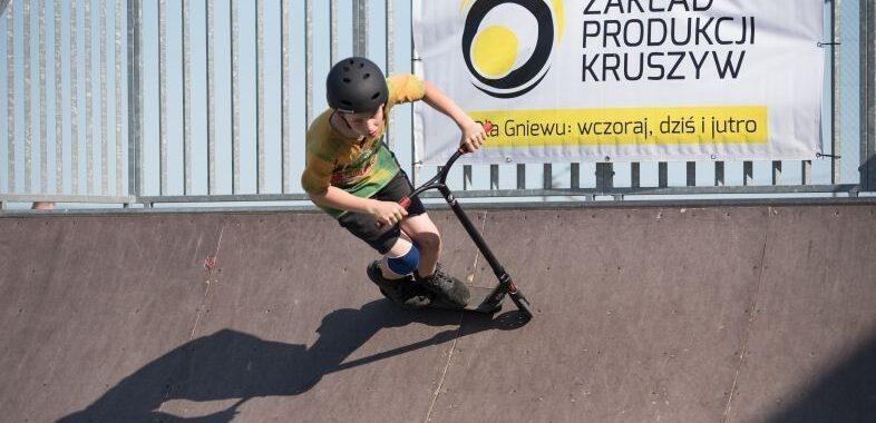 Udana inauguracja sezonu na skateparku w Gniewie